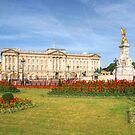 Buckingham Palace And Garden by Yhun Suarez