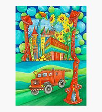 Firefighters Photographic Print
