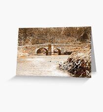 Lerryn Bridge Greeting Card