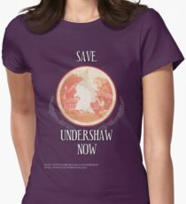 Save Undershaw Now Two Women's Fitted T-Shirt