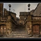 """STAIRWAY TO THE ORATORIES OF THE HOLY CRUCIFIX VITTORIOSA MALTA"" by RayFarrugia"