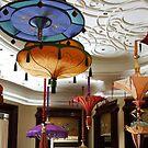 Parasol chandeliers in Las Vegas by Marjorie Wallace