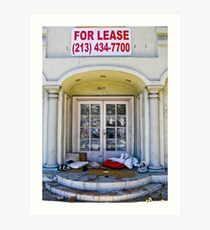 For Lease.... Art Print