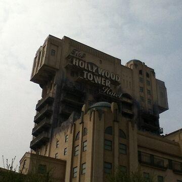 Walt Disney ® Studios - Hollywood Tower Hotel by nicholax11