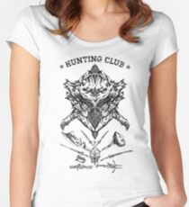 Hunting Club Women's Fitted Scoop T-Shirt