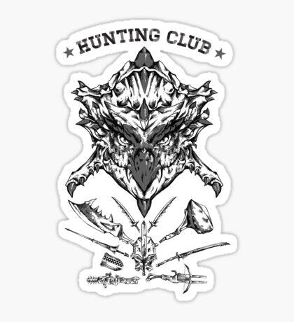 Hunting Club Sticker
