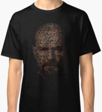 Walter White, Typographic Man of Chemistry Classic T-Shirt