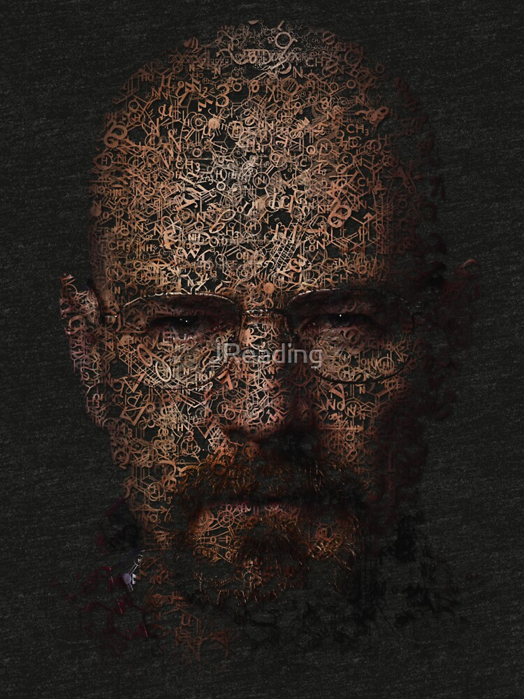 Walter White, Typographic Man of Chemistry by JReading