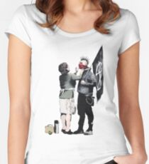 Anarchy... Women's Fitted Scoop T-Shirt