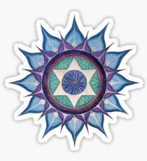 Mandala : Blooming Star Sticker
