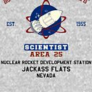 Nuclear Rocket Scientist by GUS3141592