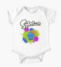 Splatoon Squid - Colour Blue One Piece - Short Sleeve