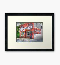 Stokes General Store Framed Print