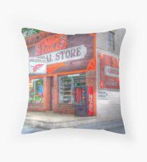 Stokes General Store Throw Pillow