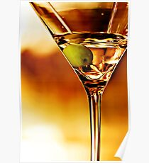 the martini - close up Poster