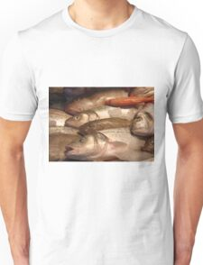 Variety of Fresh Fish Seafood on Ice 2 T-Shirt