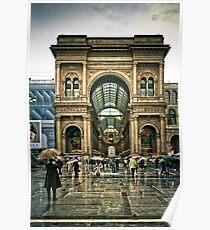 La galeria - Milano Poster