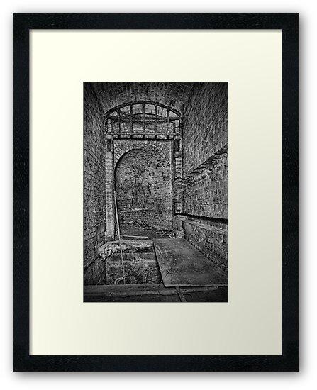 Drawbridge Missing - Grain Fort by Dave Godden