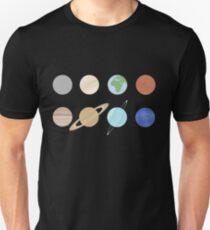 The Solar System Unisex T-Shirt