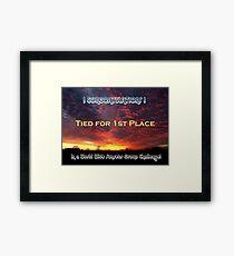 Challenge Entry Framed Print
