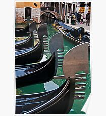 Gondolas Park Poster