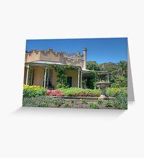 Vaucluse House, Sydney, NSW Greeting Card