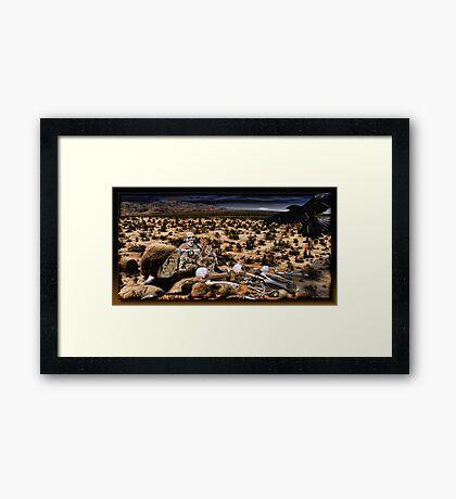 Peyote Valley Framed Print