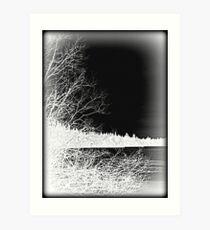 Inside Out Landscape Art Print