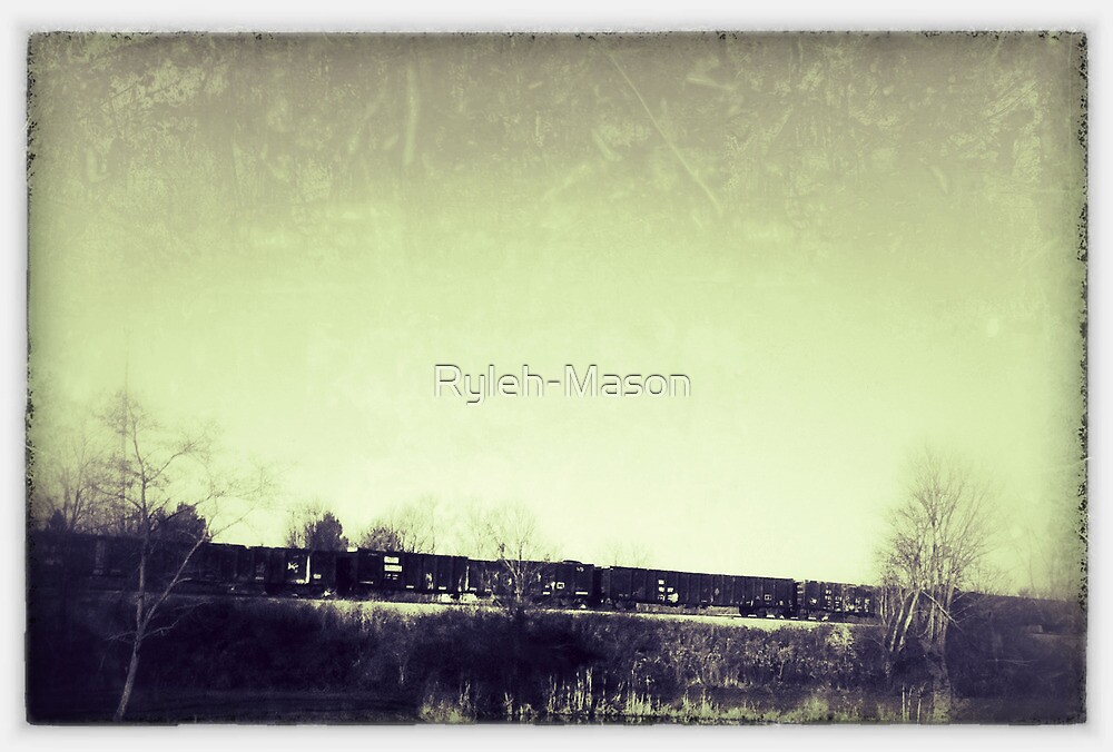 Slow Train Coming 1 by Ryleh-Mason