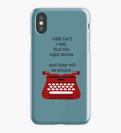 One day iPhone Case