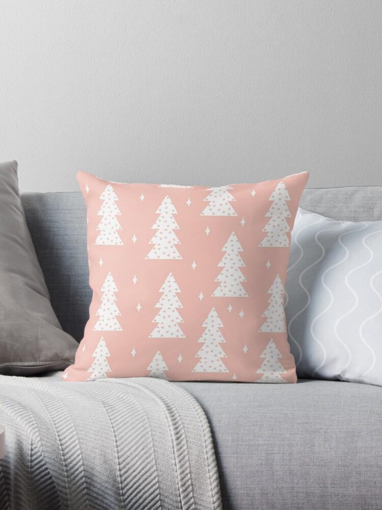 Christmas Tree - Blush by Andrea Lauren  by Andrea Lauren