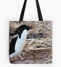 Adelie with Pebble Tote Bag