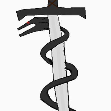 Dragon Sword by TheBlueVikingsR