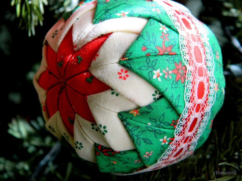 Handmade Ornament - 2014    ^ by ctheworld