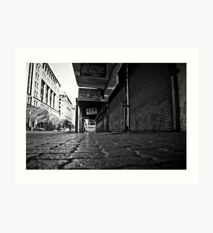 The walkway  Art Print