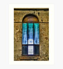 Window to the light Art Print