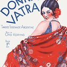 DONNA VATRA (vintage illustration) by ART INSPIRED BY MUSIC