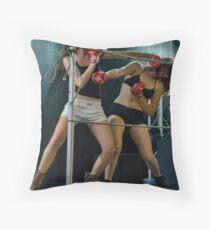 Knock-out Throw Pillow