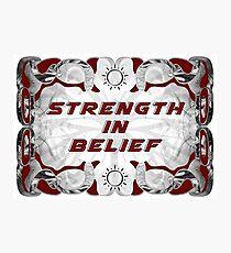 Strength in Belief Photographic Print