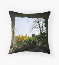 Carriganass Castle Throw Pillow