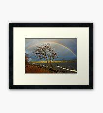 Rainbow Over Ness Framed Print