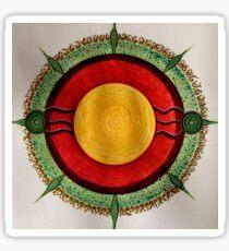 Mandala : Centre  Sticker