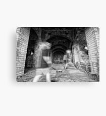 Ghostly Halls Canvas Print