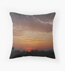 Sunset over West Cork Throw Pillow