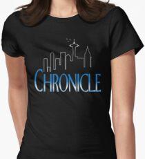 Chronicle/Frasier Mash-up Women's Fitted T-Shirt