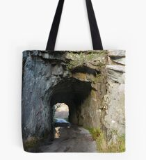 Tunnel in County Kerry Tote Bag