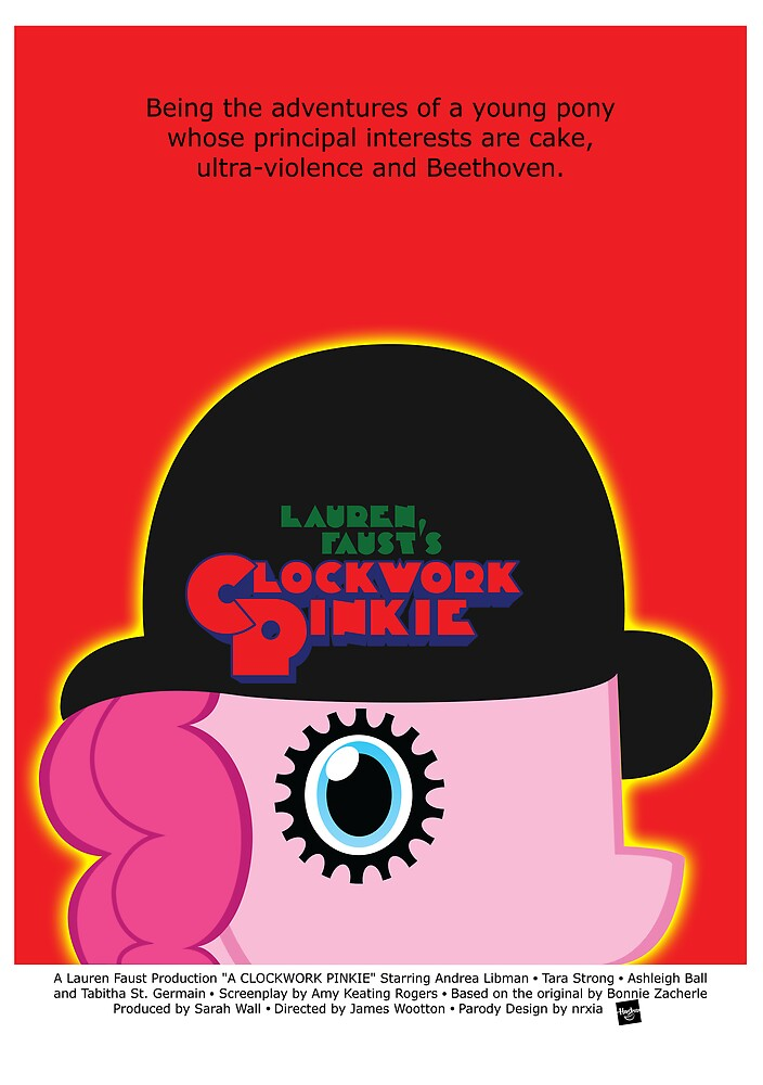 A Clockwork Pinkie by nrxia