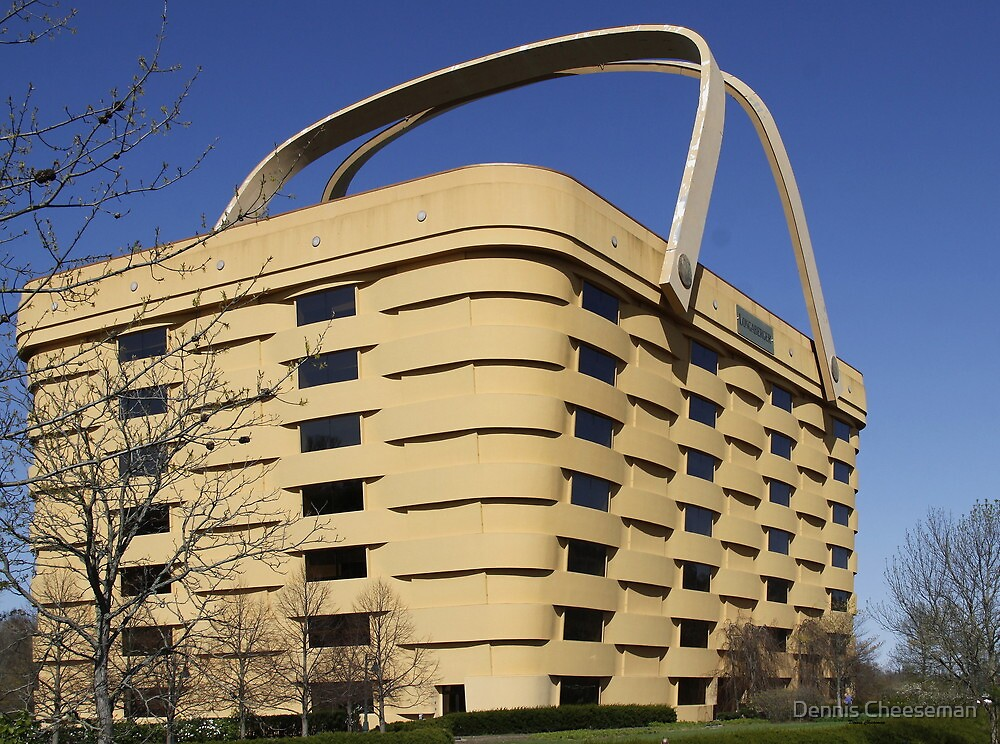 Longaberger Building by Dennis Cheeseman