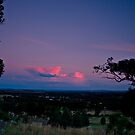 Sunset Reflections over Wagga Wagga by bazcelt