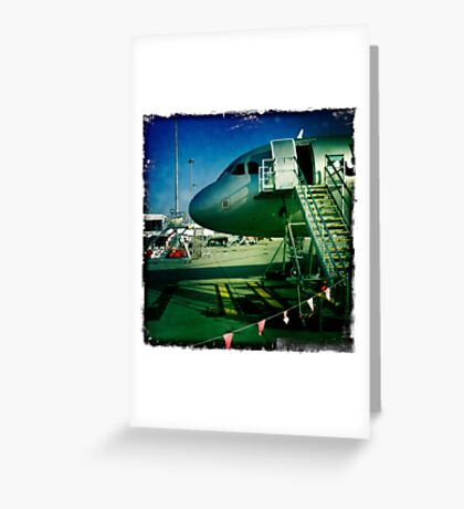 Jetstar Greeting Card